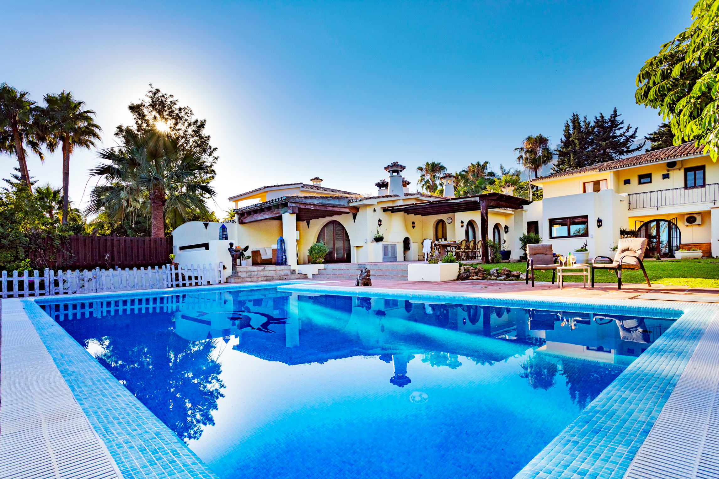 Magnificent villa for sale in Sierra Blanca